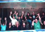 Justin Bieber having fun in Disneyland with Kristen