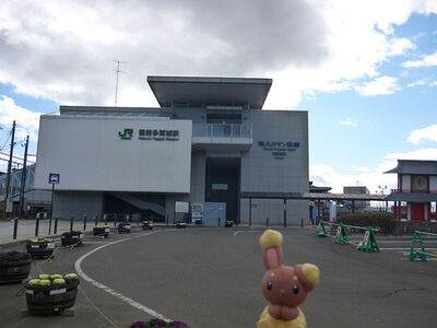 Buneary in Tagajo, Miyagi 23 (JR Kokufu-Tagajo station)