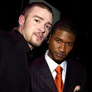 Usher and justin timberlake