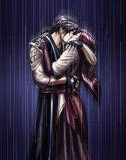 Rainfall s Kiss by turin the forsaken