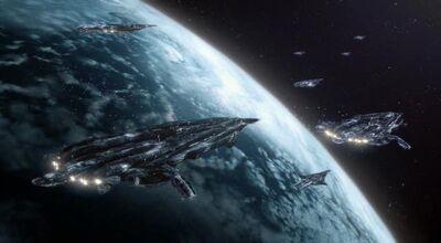 A Fleet of Galaxy Class Dreadnaughts