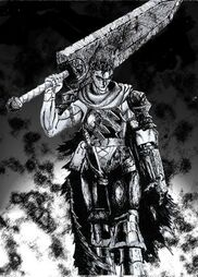 Guts the black swordsman