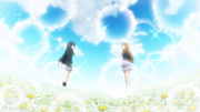 Mio and Megumi