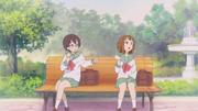 Nodoka and yui in junior high school
