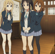 Mio needs to act boyish
