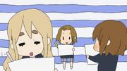 Mugi, yui and ritsu drawing