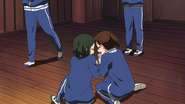 Yōko and Toshimi admire Mio without end