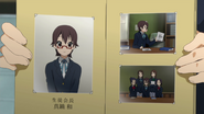 Nodoka in the student council album