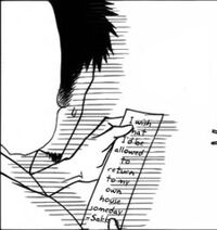 Sakuya wanting to rewrite his wish