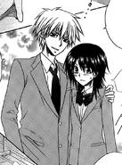 Takumi declares Misaki as his girlfriend