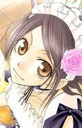 Misaki's appearance in the manga