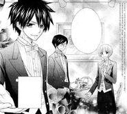 Misaki, subaru and honoka as boys manga