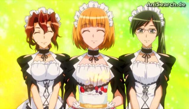 File:Maids presenting cake.jpg