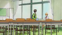 Takumi talking to Takezawa