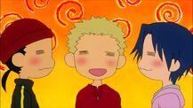 Happy idiot trio