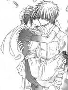 Takumi kisses Misaki chap 78