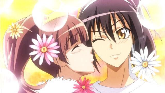 File:Sakura kisses Misaki.jpg