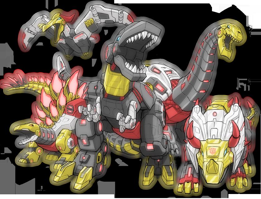 Kidagakash Dinobots   Kaiju...
