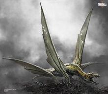 Concept Art - Godzilla 2014 - Josh Nizzi Pterodactyl