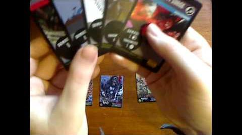 CKC Card Game - Playing & Reading Combat Cards