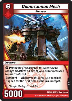 Doomcannon Mech (12MYS)