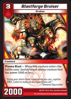 Blastforge Bruiser (7CLA)