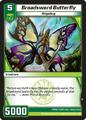 Broadsword Butterfly (10INV)
