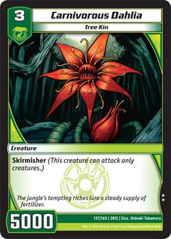 Carnivorous Dahlia (3RIS)