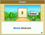 Getting Medal-DungeonVillage