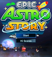 Title Screen - Epic Astro Story
