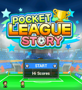 Pocket League Story - Title Screen