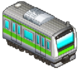 Green Striped Train (Station Manager)