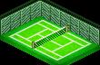 Tennis Court - world cruise story