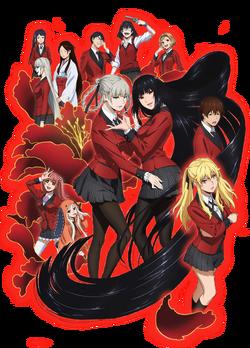 Kakegurui anime cast image