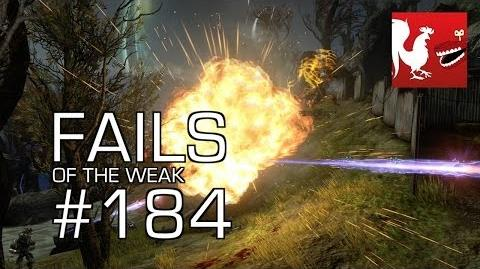Fails of the Weak - Funny Halo Bloopers and Screw Ups! - Volume 184