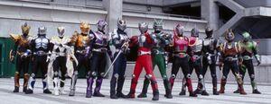 KRDK all Kamen Rider