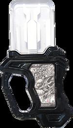 KREA-Proto Mighty Action X Origin Gashat