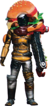KREA-Burgermon Bugster