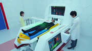 CR patient bed