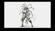 Spider Man in Shin (Goushima) concept art