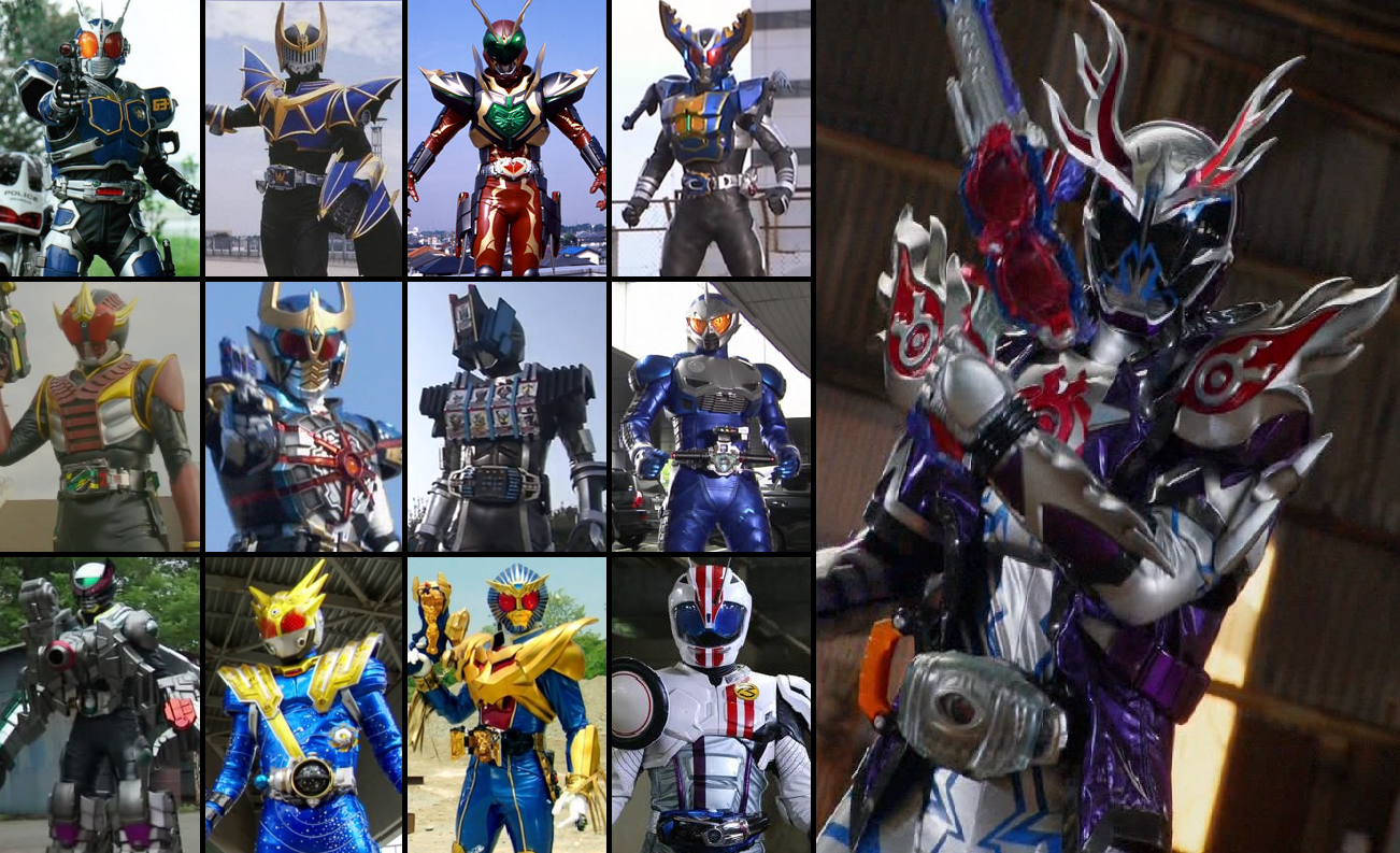 Image - Secondary Riders Final Form.png | Kamen Rider Wiki ...