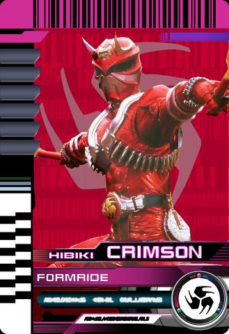 File:Form ride hibiki crimson by mastvid-d8q95js.png
