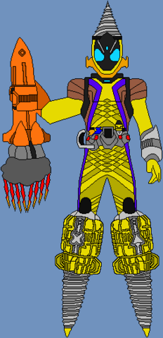 File:Kamen rider fourze drill states by teknam-d536o52.png