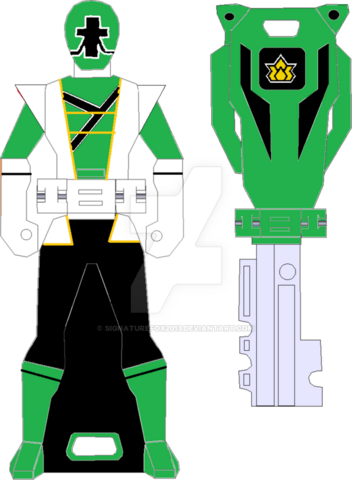 File:Super shinken green ranger key by signaturefox2013-d8g3mpd.png