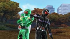 Kamen Riders Cyclone & Joker