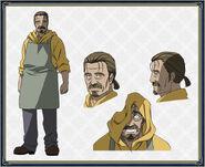 Yuuto design anime