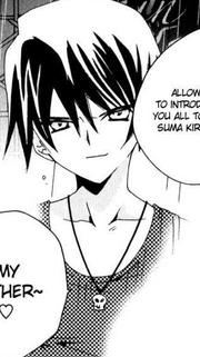 Kirihiko controling Jin's body