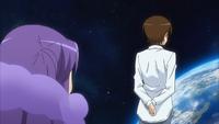 Keima explaining to Haqua