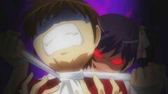 Ayumi's Choking Keima