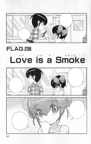 236 ~ Love is a Smoke